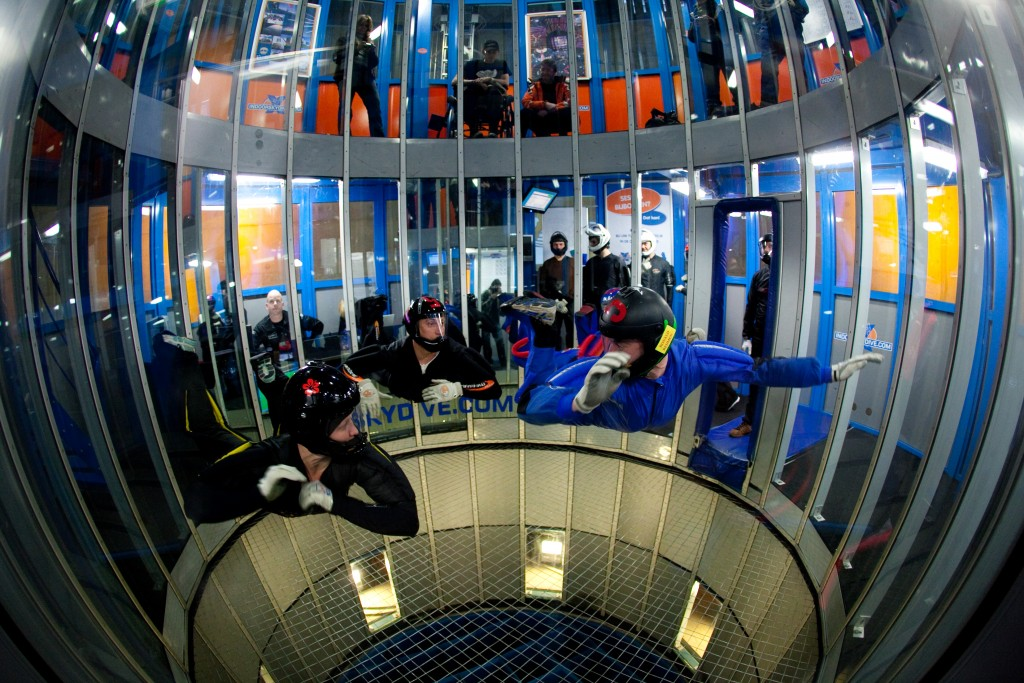 Indoor Skydive Roosendaal in Roosendaal | Daguitje.nl